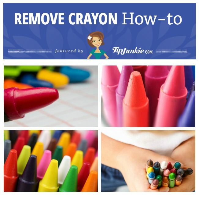 How to Remove Crayon Stains