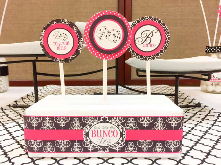 Bunco Dice Free Printables