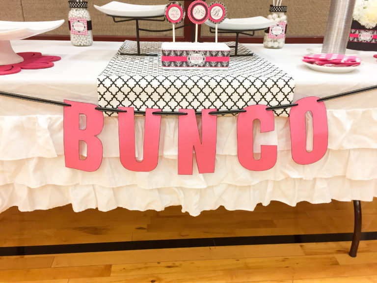 Bunco Banner Free Printable on Tip Junkie