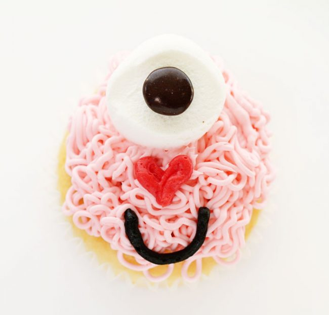 Love Monster Cupcake