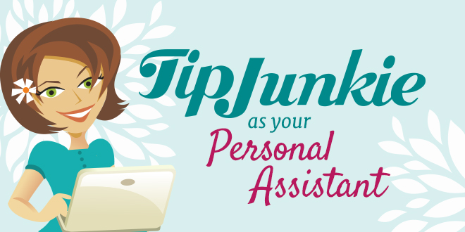 personal assistant header