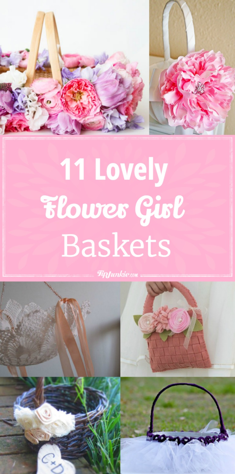 11 Lovely Diy Flower Girl Baskets Tip Junkie