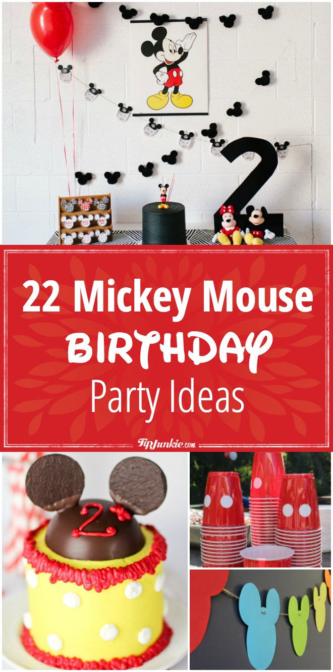 22 Mickey Mouse Birthday Party Ideas
