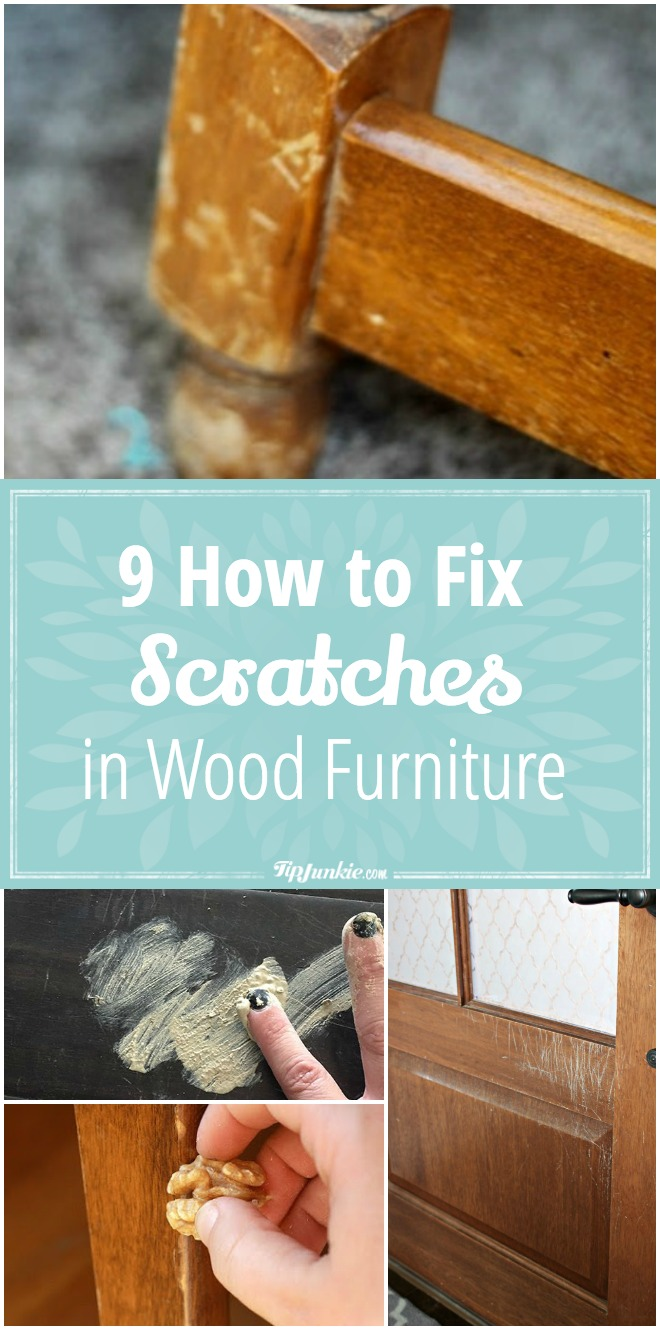 9 How to Fix Scratches in Wood Furniture