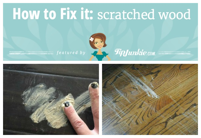 How to Fix it on Scratched Wood