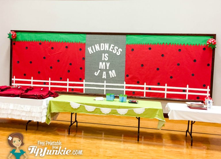 Kindness Is My Jam Decorate a Gym TipJunkie