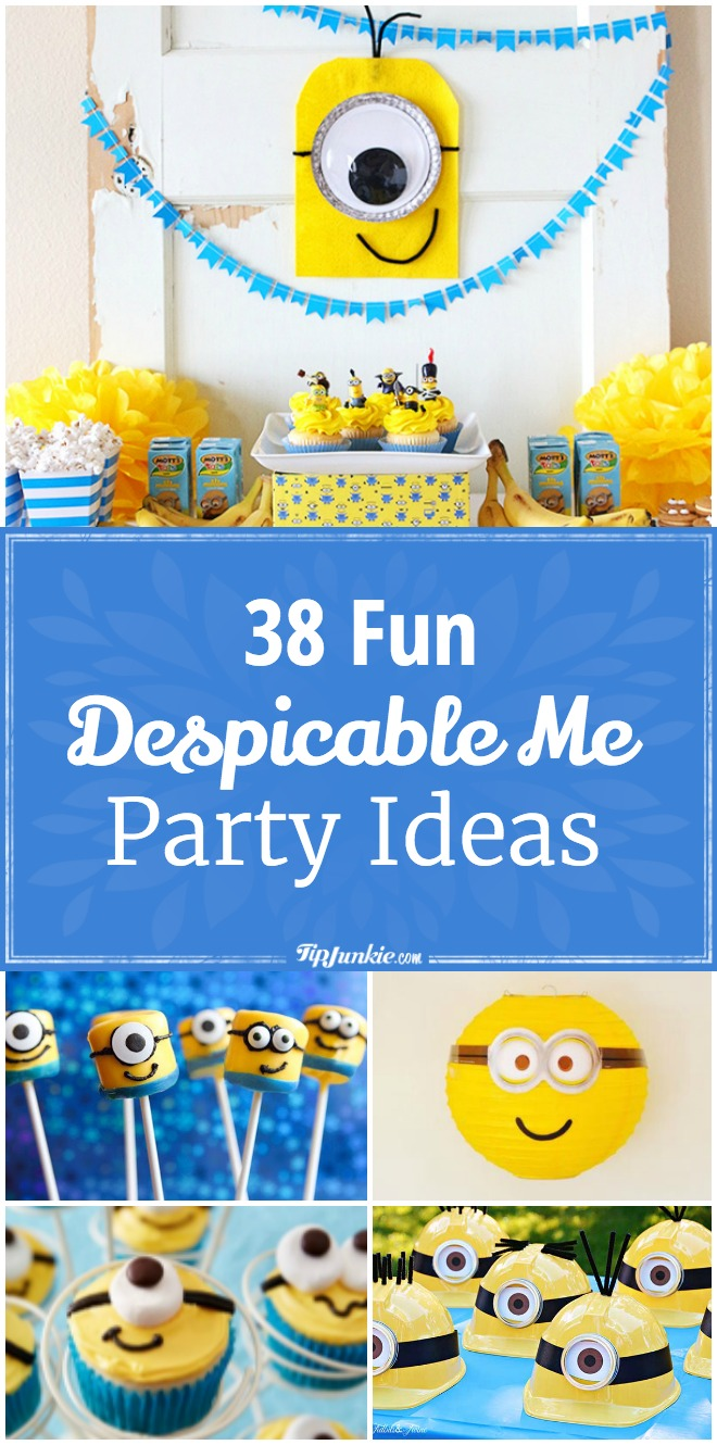 38 Fun Despicable Me Party Ideas