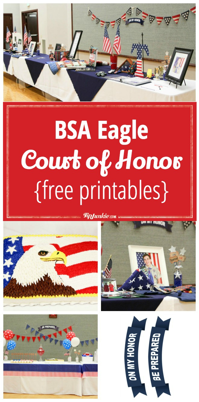 BSA Eagle Court of Honor