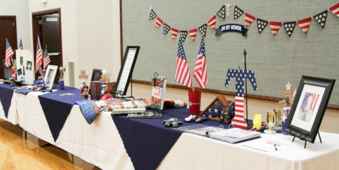 BSA court of honor eagle table