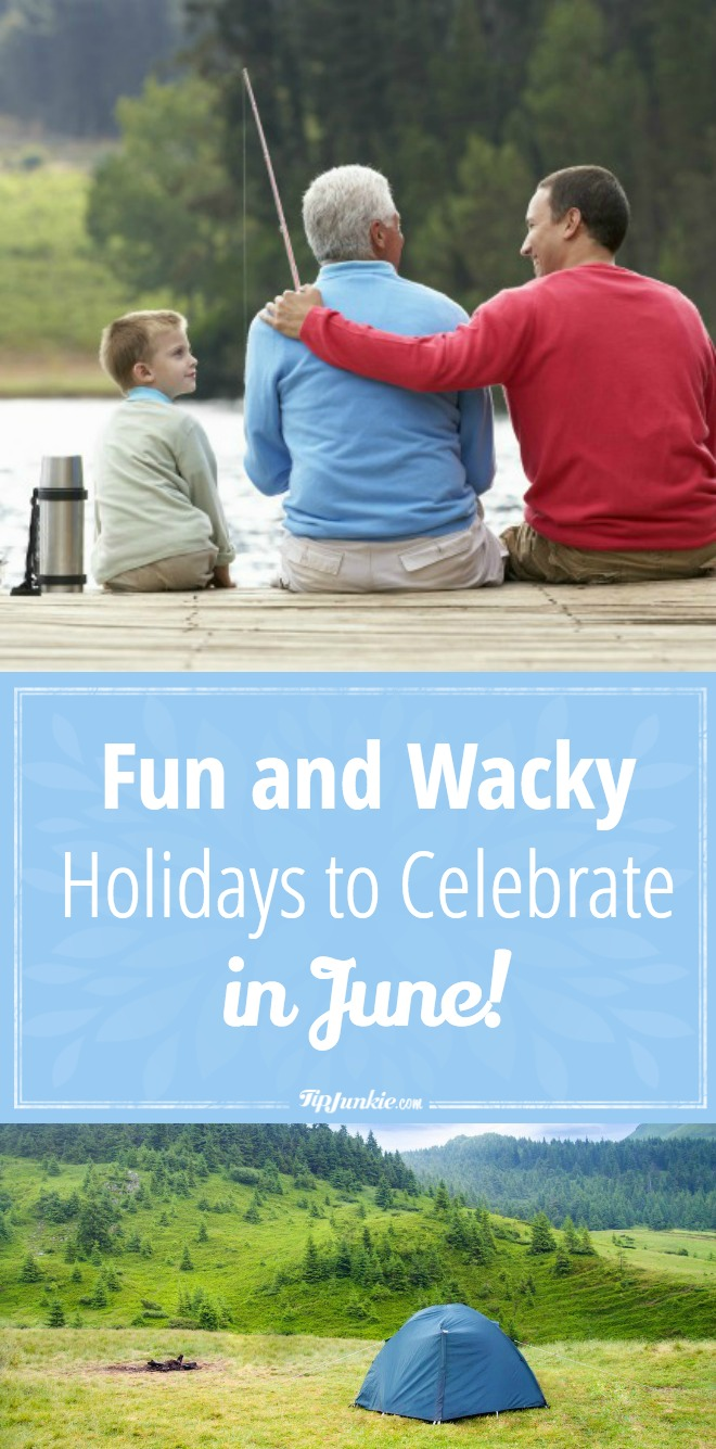 Fun and Wacky Holidays to Celebrate in June