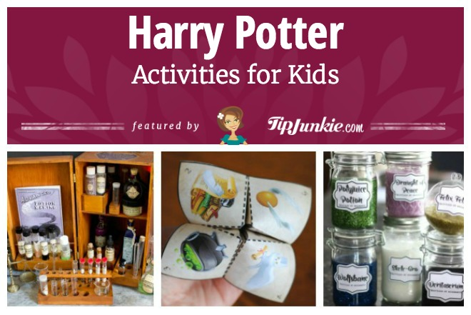 29 harry potter crafts activities easy tip junkie 29 harry potter crafts activities easy solutioingenieria Image collections