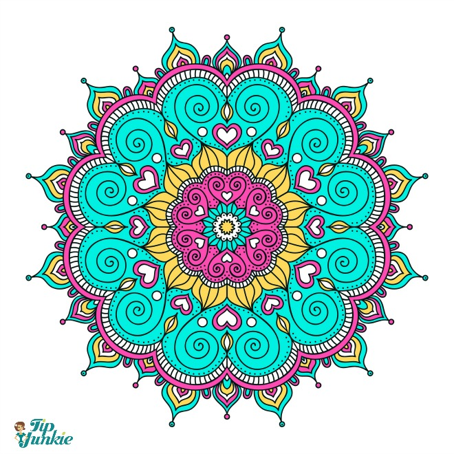 25 Free Mandala Coloring Pages [printable] | Tip Junkie