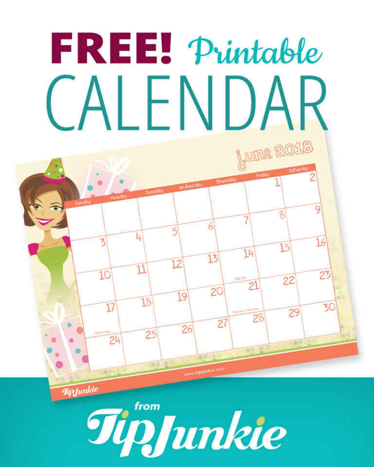 print out this free adorable calendar to help keep you organized in 2018 i