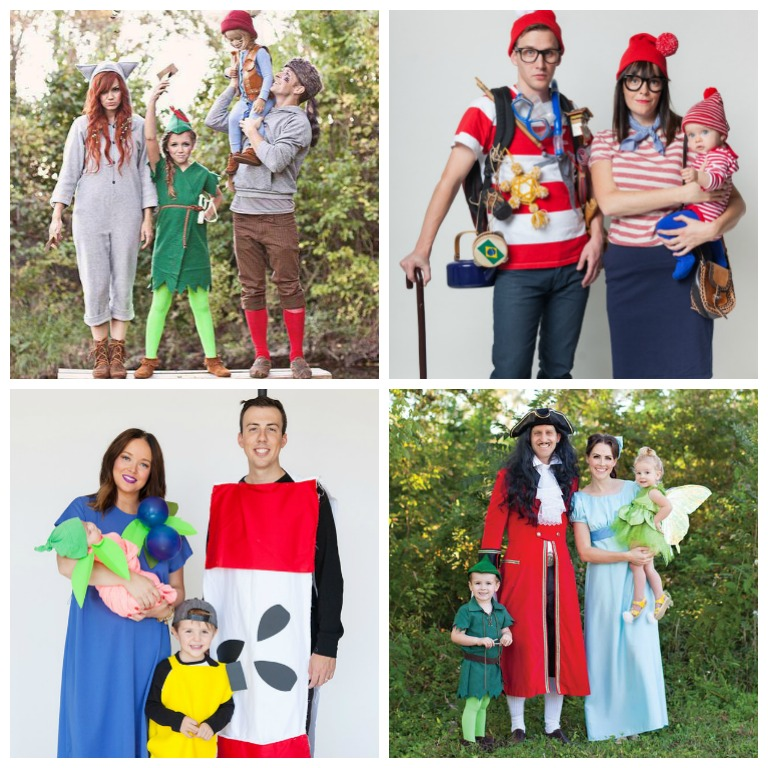 10 Fantastic Family Halloween Costumes You Can Make!