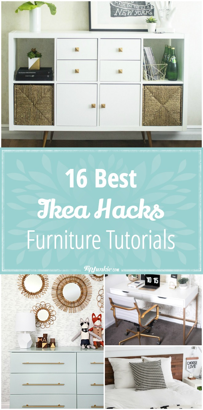16 Best Ikea Furniture Hacks [tutorials] | Tip Junkie