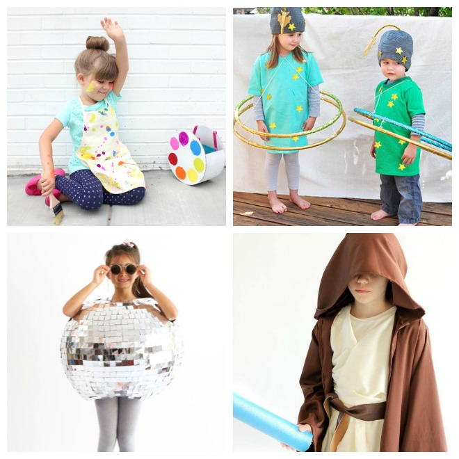 26 Darling DIY Kids Costumes to Make [free patterns]