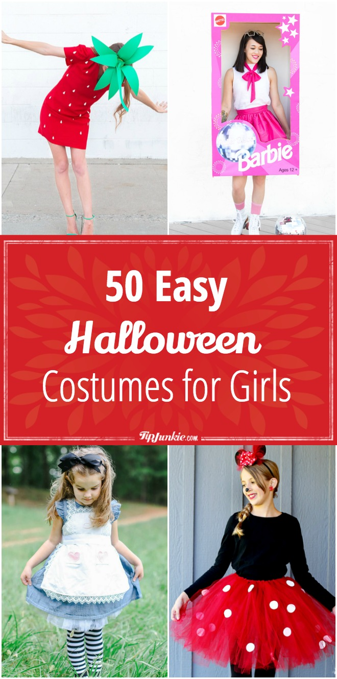 50 Easy Halloween Costumes for Girls