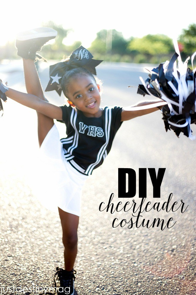 easy diy cheerleader costume