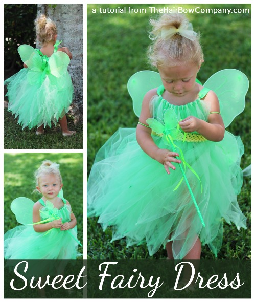 fairy dress tutorial