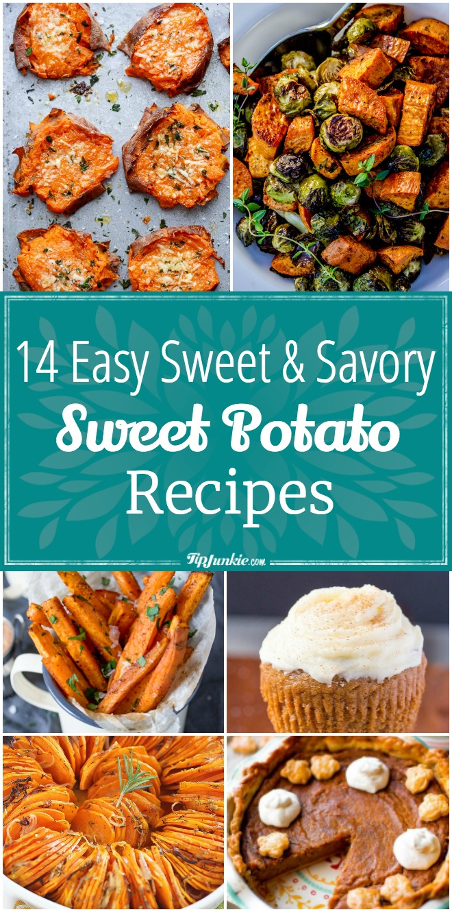 14 Easy Sweet Potato Recipes [Sweet & Savory]