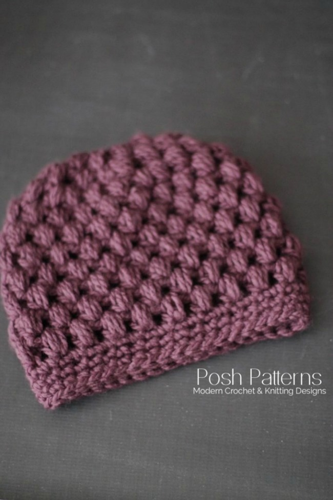 10 Easy Messy Bun Hat Patterns Crochet Amp Knit Tip Junkie