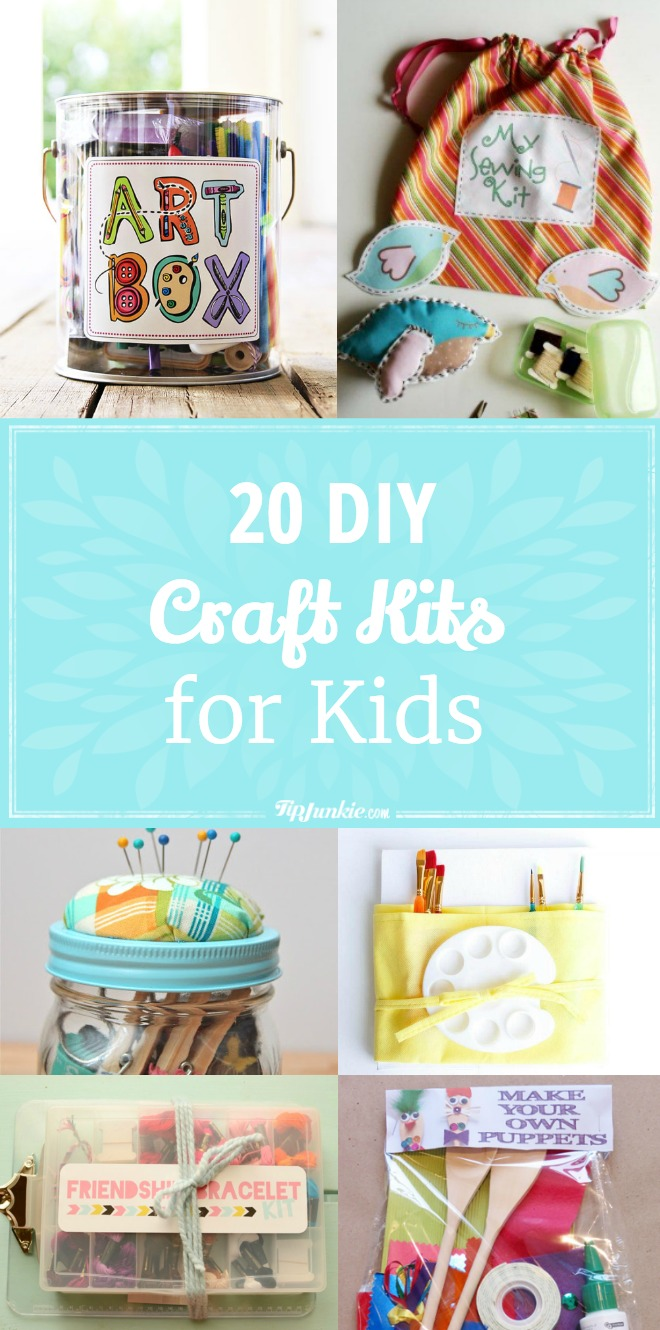20 DIY Craft Kits for Kids