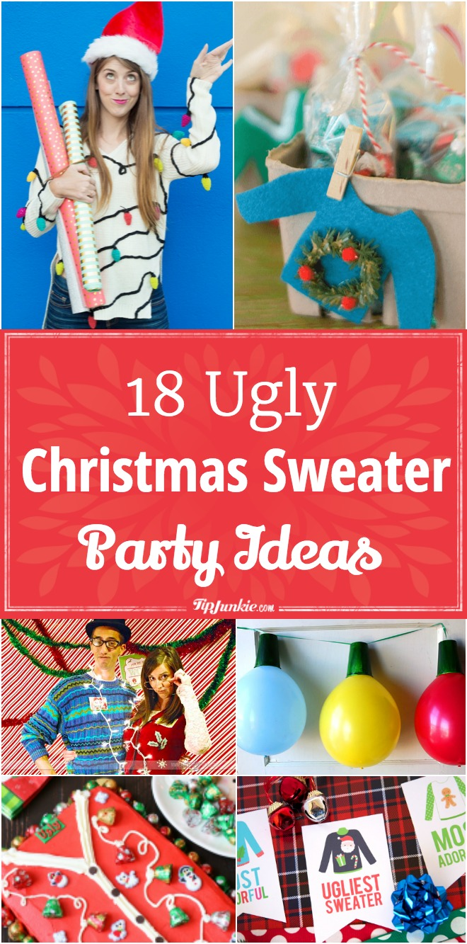 18 Ugly Christmas Sweater Party Ideas