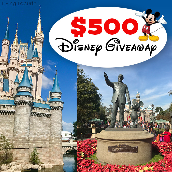 Disney Park Tickets Free Giveaway
