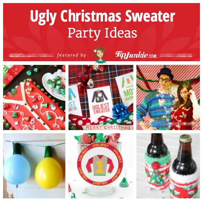 18 ugly christmas sweater party ideas - Ugly Christmas Sweater Party Decorations