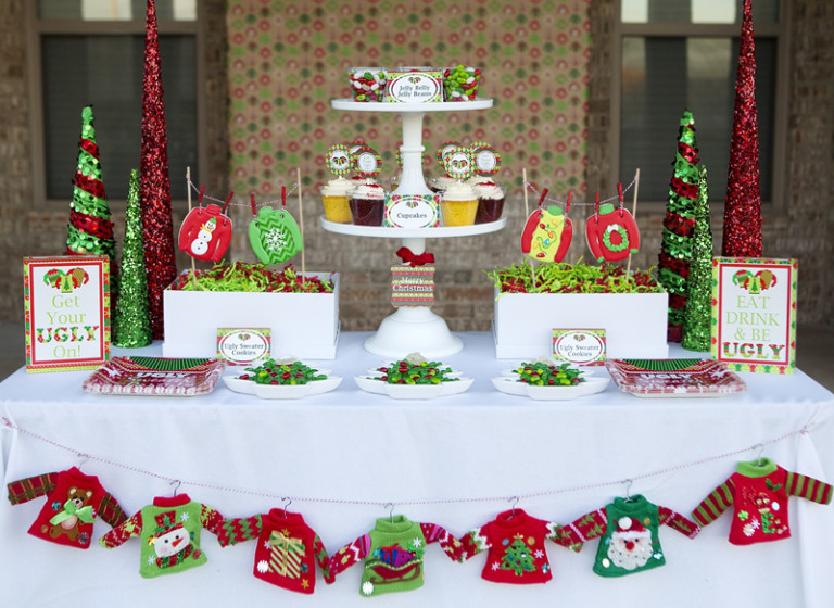 lillian hope designs - Ugly Christmas Sweater Party Decorations