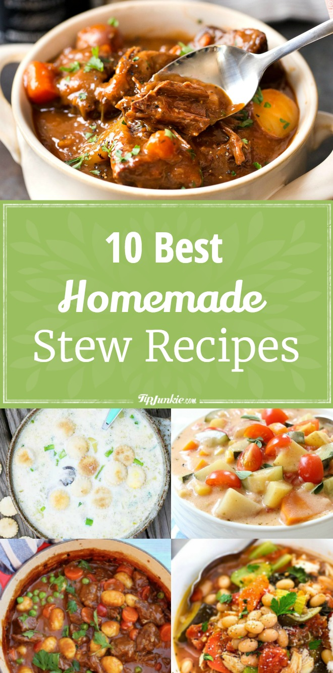10 Best Homemade Stew Recipes