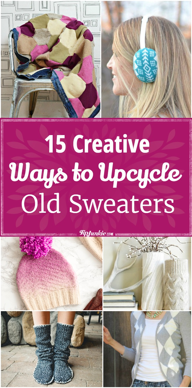 15 Creative Ways to Upcycle Old Sweaters
