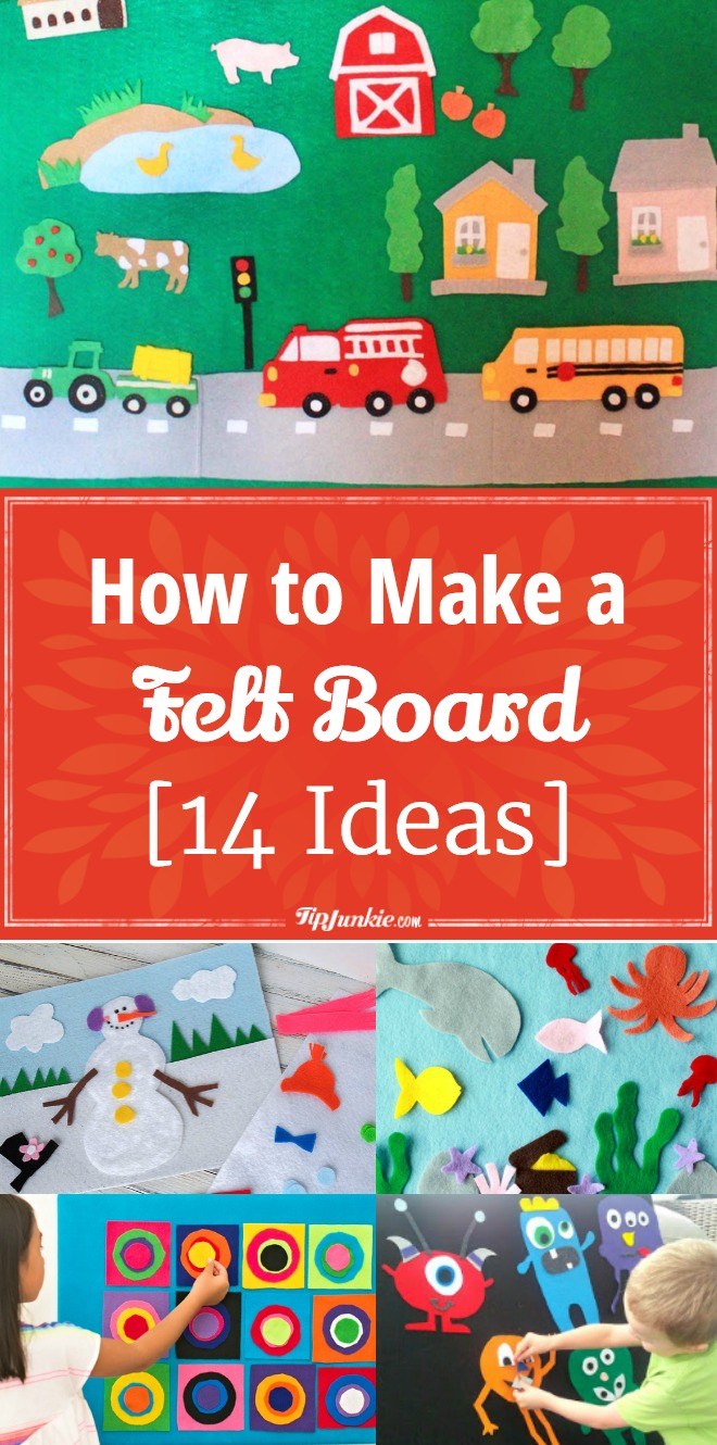 How to Make a Felt Board [14 Ideas]