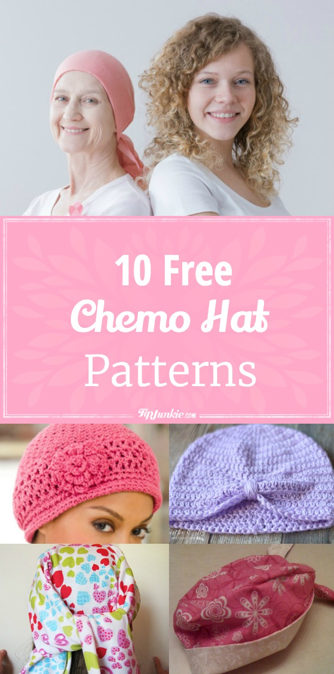 10 Easy Chemo Hat Patterns [Free] | Tip Junkie