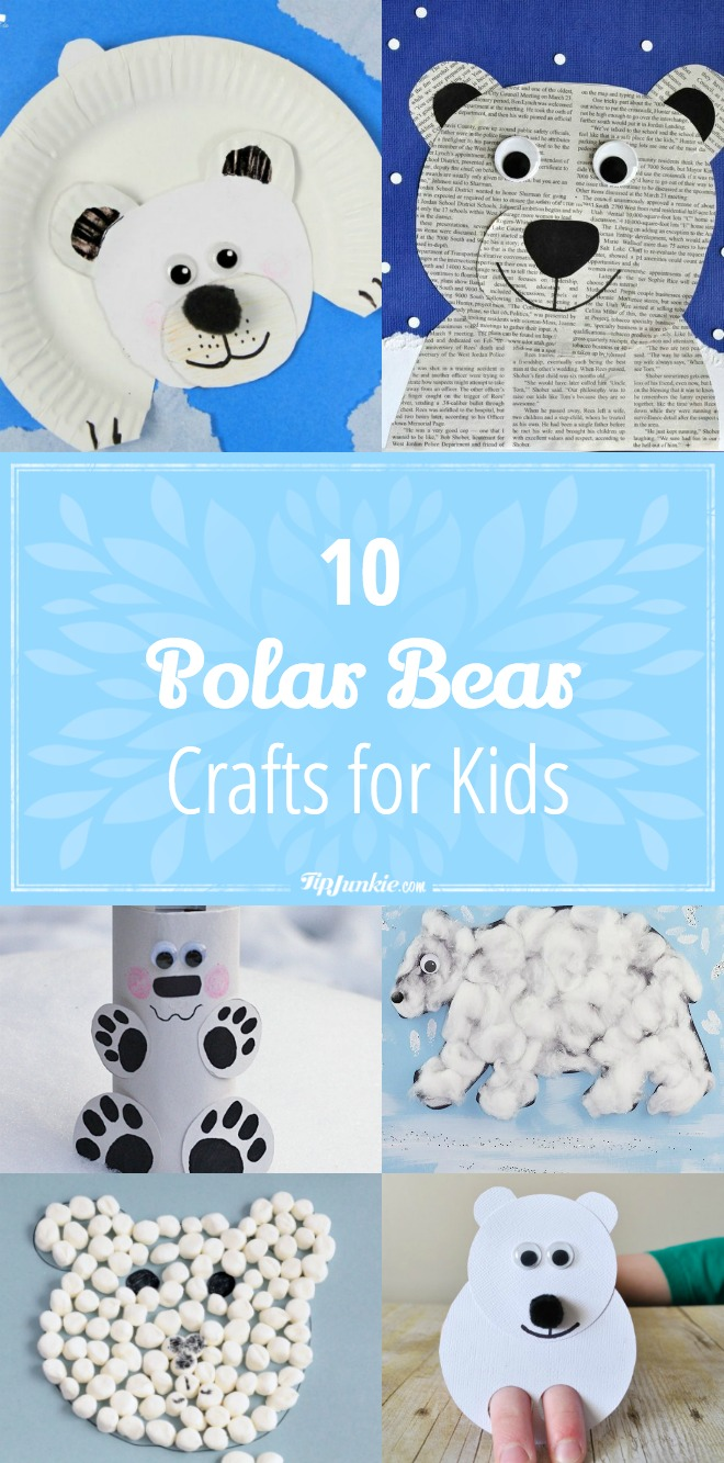 10 Polar Bear Crafts for Kids