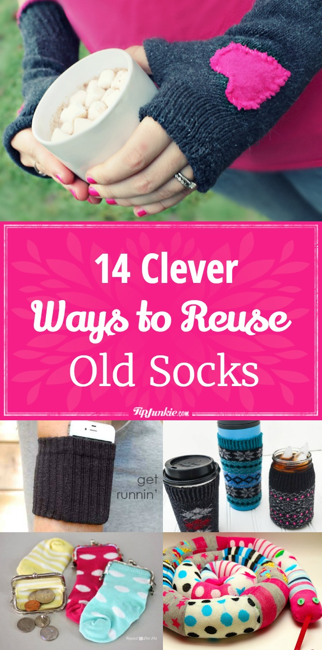 14 Clever Ways to Reuse Old Socks