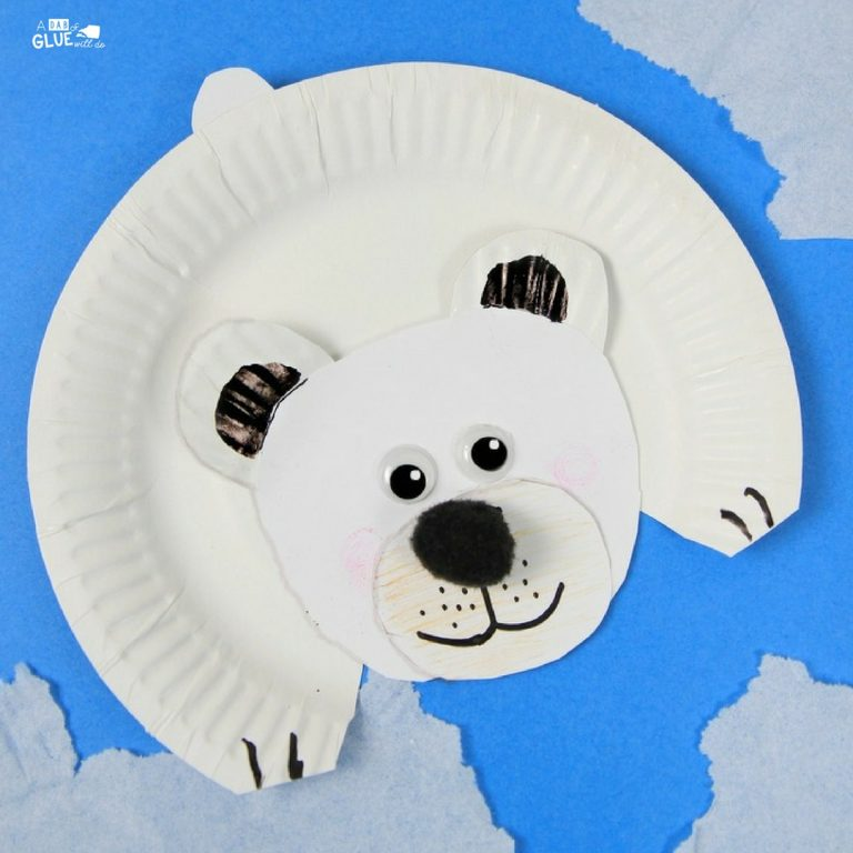 Polar bear crafts kindergarten