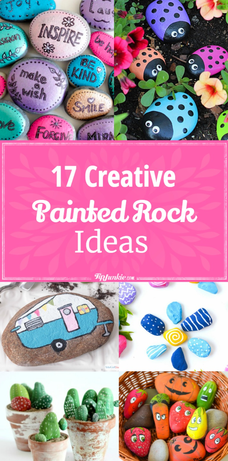 17 Creative Painted Rock Ideas [diy]