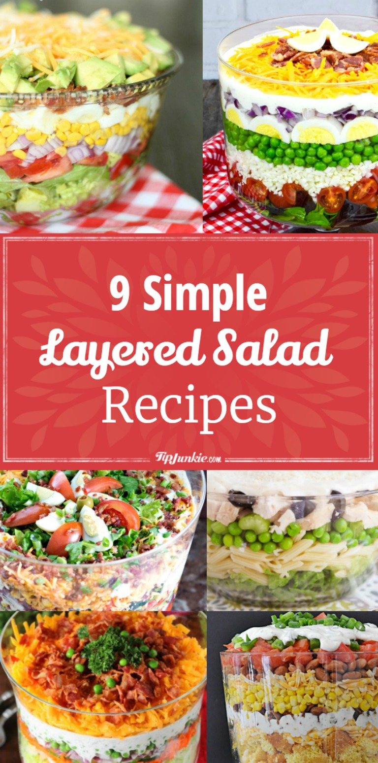 9 Simple Layered Salad Recipes