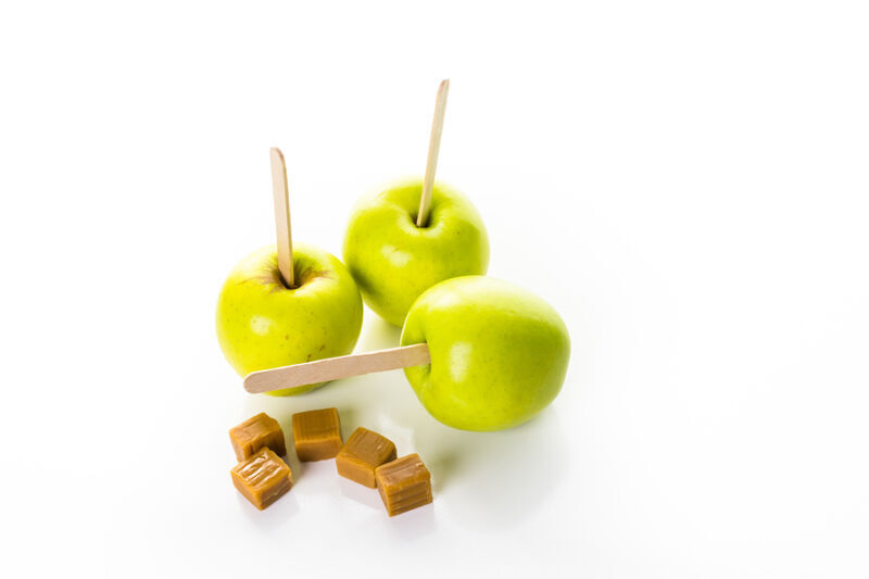 Apples and caramel