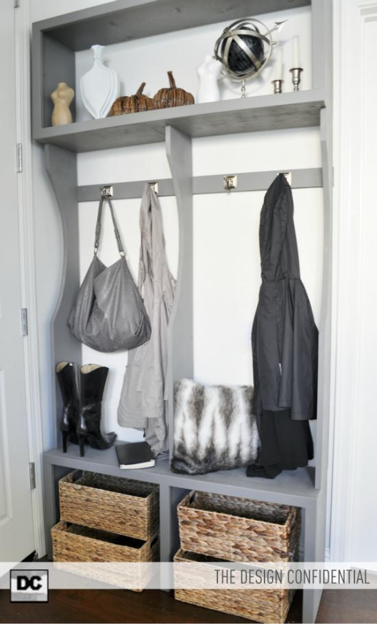 13 Diy Entryway Organization Ideas Tip Junkie