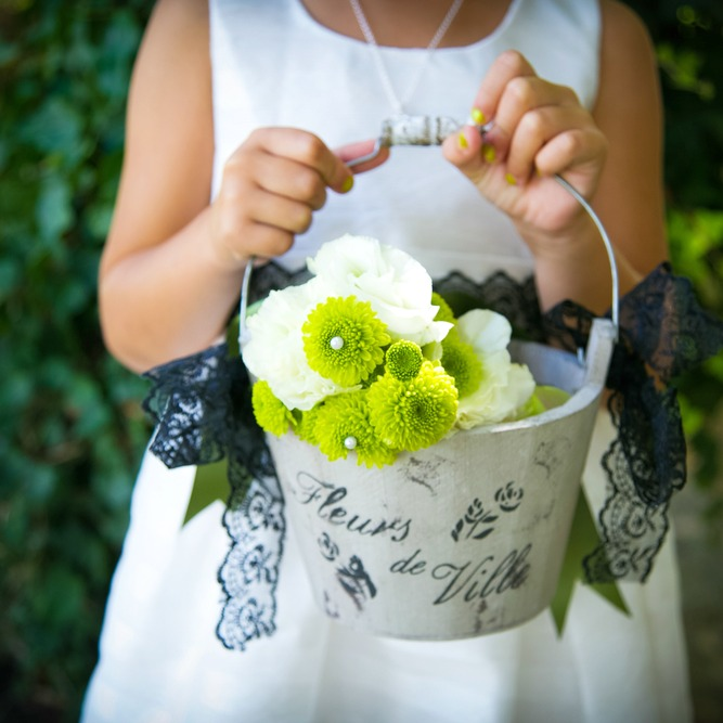 DIY Flower Girl Baskets square