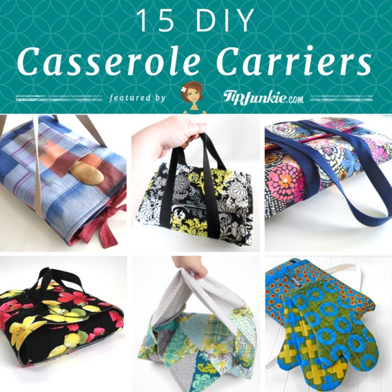 15 DIY Casserole Carriers