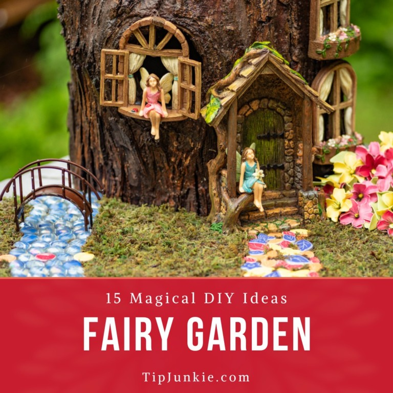 15 Magical Fairy Garden Ideas Diy Tip Junkie