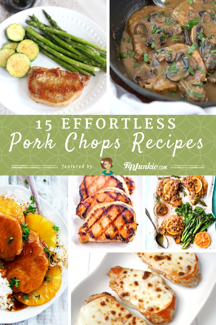 15 Effortless Pork Chop Recipes