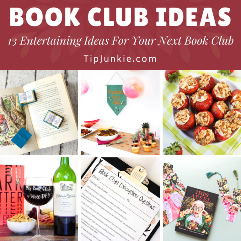 13 Entertaining Book Club Ideas for Your Next Book-Square
