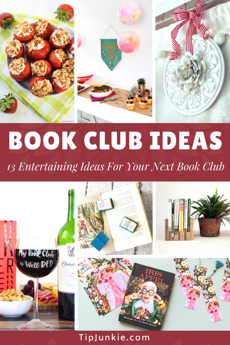 So lovely!  This makes me want to host a book club. Now I have some great book club ideas.