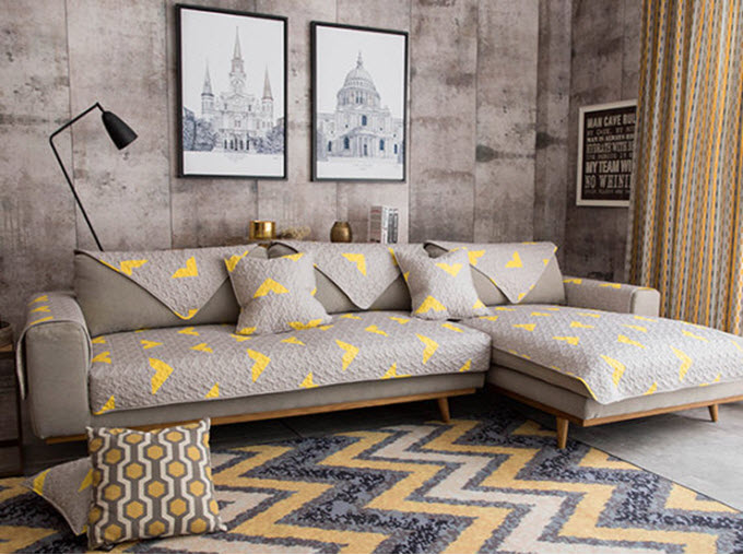 Tremendous 18 Couch Covers To Revive Your Old Couch Tip Junkie Unemploymentrelief Wooden Chair Designs For Living Room Unemploymentrelieforg