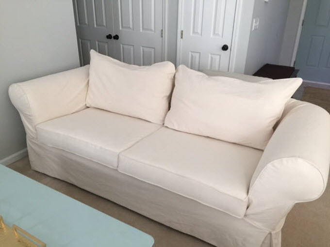Custom Sofa Slipcover