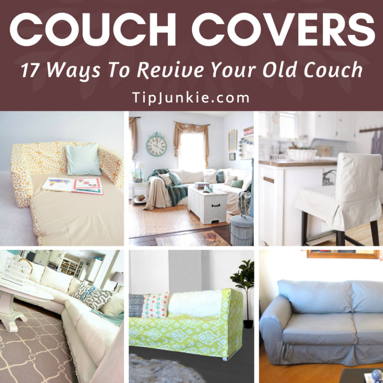 DIY Couch Covers and Slipcovers to Revive Your Old Couch